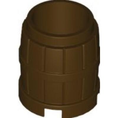 LEGO Barrel 2x2x2 (Dark Brown)