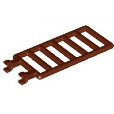 LEGO Bar 7 x 3 (Ladder) Reddish Brown