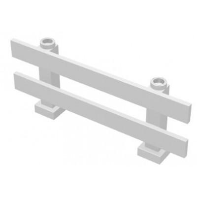 LEGO Fence Farm style (White)