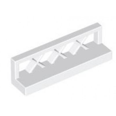 LEGO Fence Low (White)