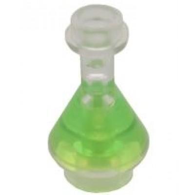 LEGO Bottle / Vial Conical Flask (Transparent)