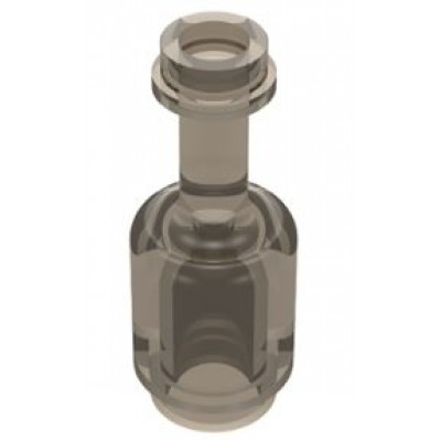 LEGO Bottle (Transparent Black)