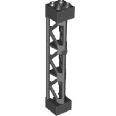 LEGO Lattice Tower - Support Girder Black