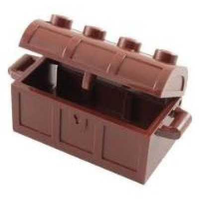 LEGO Treasure Chest - Reddish Brown
