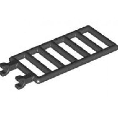 LEGO Bar 7 x 3 (Ladder) Black