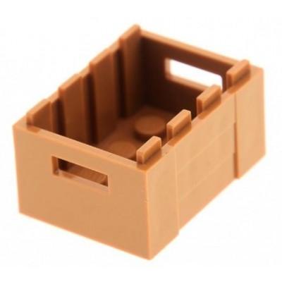 LEGO Container 3x4x2 (Medium Dark Flesh)