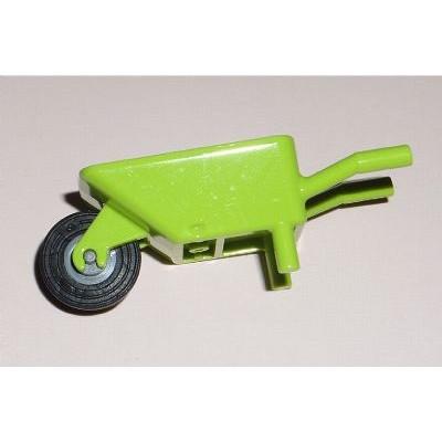 LEGO Wheelbarrow (Lime) complete