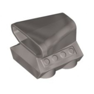 LEGO Air Scoop - Flat Silver