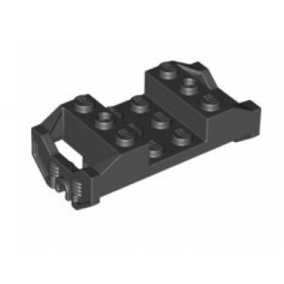 LEGO® Train Wheel RC Train, Holder with Pin Slots (Black)