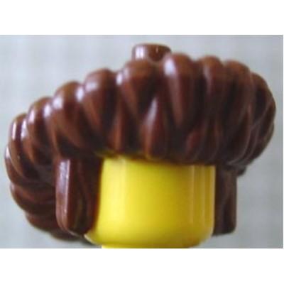LEGO Minifigure Hat, Mongolian - Brown