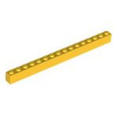 LEGO 1 x 16 Brick Yellow