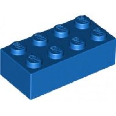 LEGO 2 x 4 Brick Blue