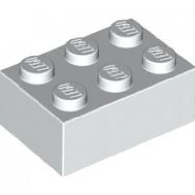LEGO 2 x 3 Brick White