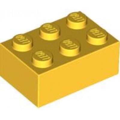 LEGO 2 x 3 Brick Yellow