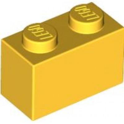 LEGO 1 x 2 Brick Yellow