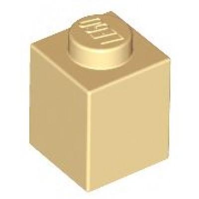 LEGO 1 x 1 Brick Tan