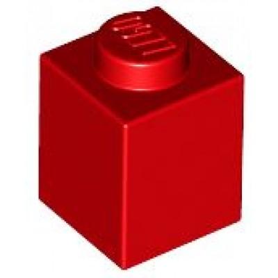 LEGO 1 x 1 Brick Red