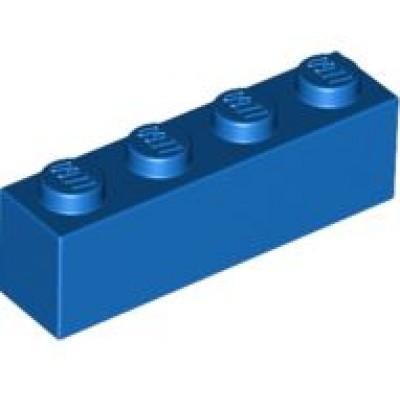 LEGO 1 x 4 Brick Blue