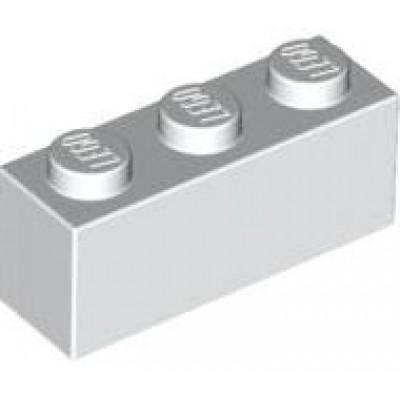 LEGO 1 x 3 Brick White