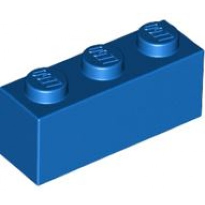 LEGO 1 x 3 Brick Blue