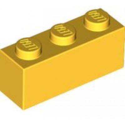 LEGO 1 x 3 Brick Yellow