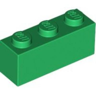 LEGO 1 x 3 Brick Green