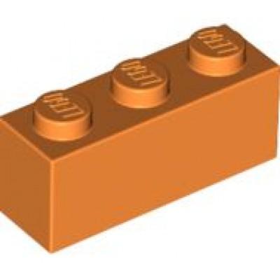 LEGO 1 x 3 Brick Orange