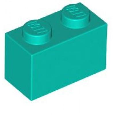 LEGO 1 x 2 Brick Dark Turquoise
