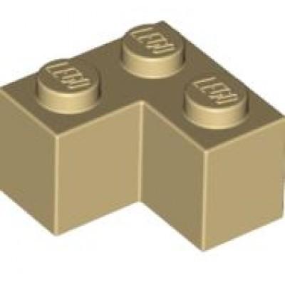 LEGO 2 x 2 Corner Brick Tan