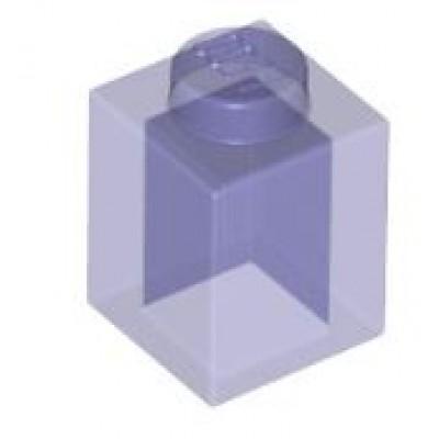 LEGO 1 x 1 Brick Transparent Purple