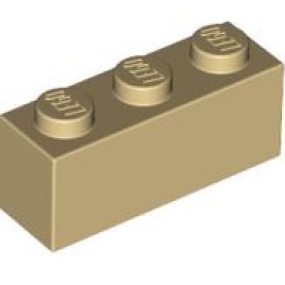 LEGO 1 x 3 Brick Tan