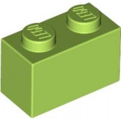 LEGO 1 x 2 Brick Lime