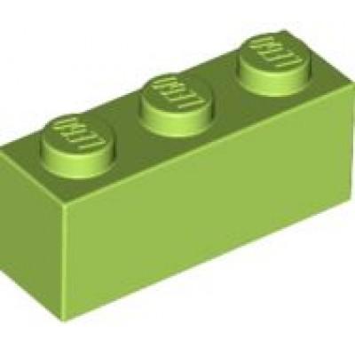 LEGO 1 x 3 Brick Lime