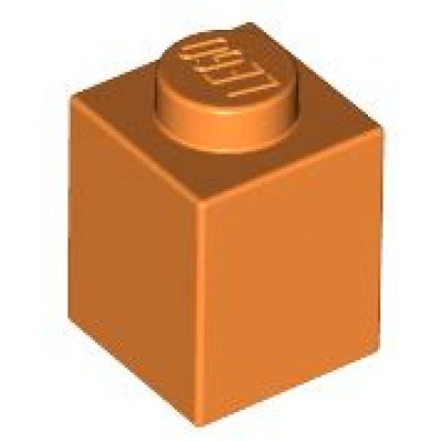 LEGO 1 x 1 Brick Orange