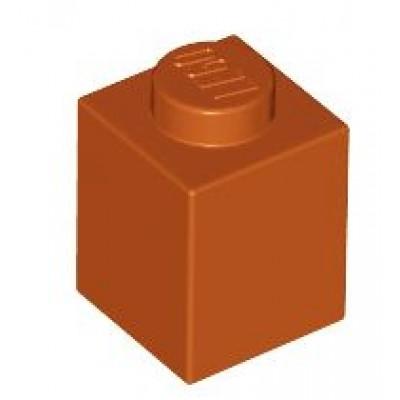 LEGO 1 x 1 Brick Dark Orange