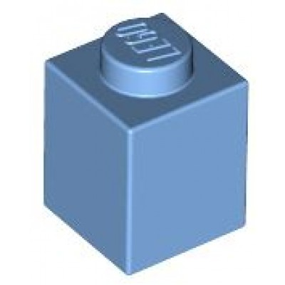 LEGO 1 x 1 Brick Medium Blue
