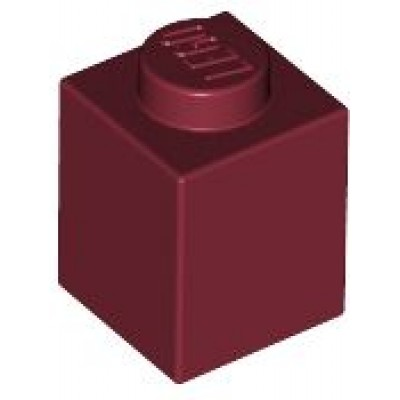 LEGO 1 x 1 Brick Dark Red