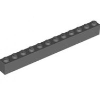LEGO 1 x 12 Brick Dark Bluish Grey