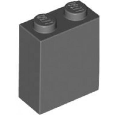 LEGO 1 x 2 x 2 Brick Dark Bluish Grey