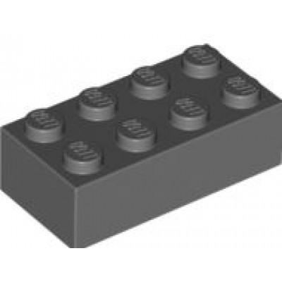 LEGO 2 x 4 Brick Dark Bluish Grey