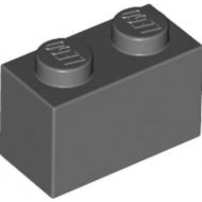 LEGO 1 x 2 Brick Dark Bluish Grey