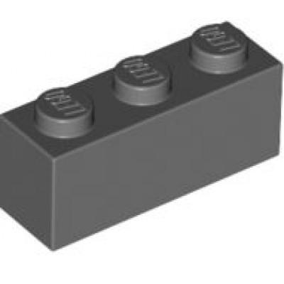 LEGO 1 x 3 Brick Dark Bluish Grey