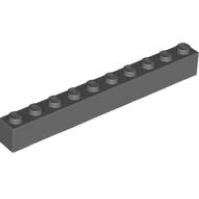LEGO 1 x 10 Brick Dark Bluish Grey