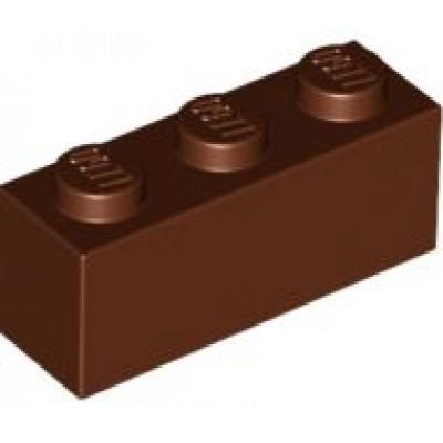 LEGO 1 x 3 Brick Reddish Brown