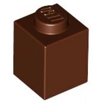 LEGO 1 x 1 Brick Reddish Brown