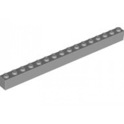 LEGO 1 x 16 Brick Light Bluish Grey