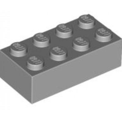 LEGO 2 x 4 Brick Light Bluish Grey