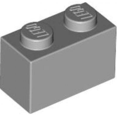 LEGO 1 x 2 Brick Light Bluish Grey