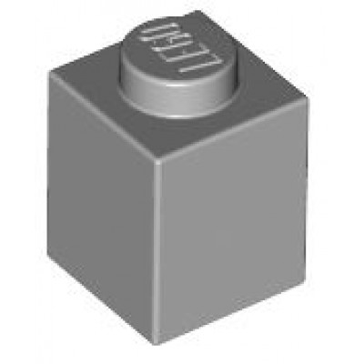 LEGO 1 x 1 Brick Light Bluish Grey