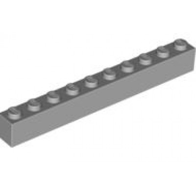 LEGO 1 x 10 Brick Light Bluish Grey